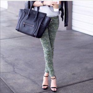 Rag & Bone Skinny Camo Print Jeans